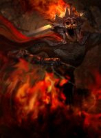 Infernal Knight by JURFFY