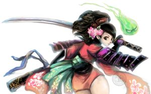 Unreleased Muramasa Art by Twilit-Arawen