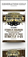 GenerationGolf Poster+Flyer by syr-ex