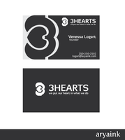 3Hearts Business Card by AryaInk