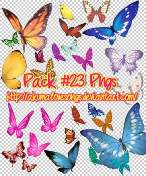 Pack 23 pngs by akumaLoveSongs