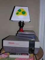 Nintendo Lamp by Eliea