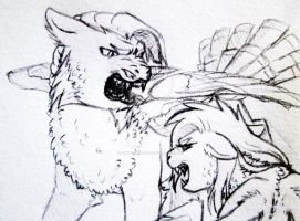 Aggressive Argument by silvererros
