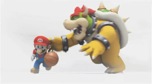 Basketball: WTF Bowser ._. by Bowser2Queen