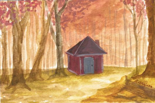 Cottage In The Woods by Genie27