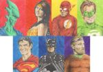 The Justice League by Leuka727