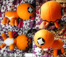 Trapinch Plush by SmileAndLead