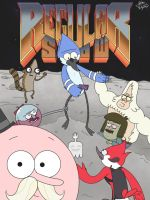 Regular Show Doom by CaptainKreepingDeath
