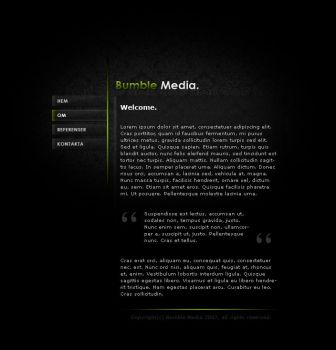 Website: BumbleMedia by Cederblad