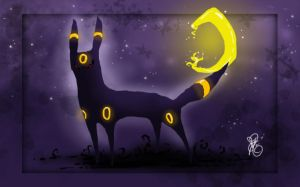 Umbreon by Bean-Sprouts