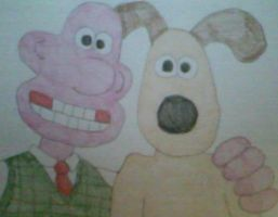 Wallace and Gromit by MollyKetty
