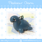 Plesiosaur Charm by ShinyCation