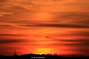 Sky of Fire by bluesgrass