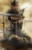Tower of Magor wizard by Igor-Esaulov