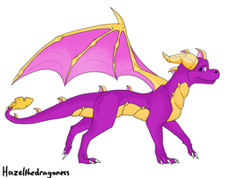 Colored Spyro by cleventothedragon
