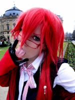 Grell Sutcliff by XIIIRoxas