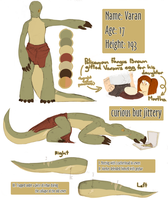 TMNT FAN CHARACTER | VARAN by Mewi-or-Melody-Wind