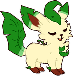 Leafeon by DemonicShadow91