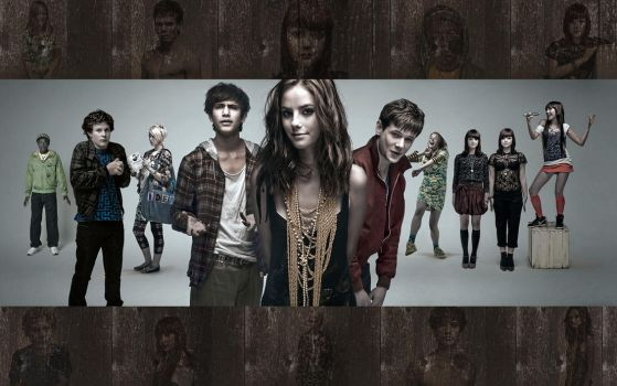 Skins - Season 3 - Wood Wallp. by Abu-Dun