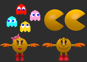 Pac-Models WIP by Nibroc-Rock