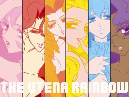 The Utena Rainbow by eronlovesyaoi