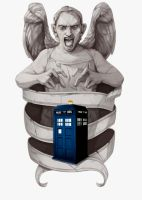 Dr Who Tattoo Design by jrumpff