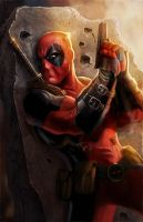 Deadpool by pinkhavok