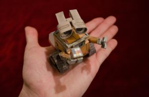 The Micro Wall-E by cocacolawiz