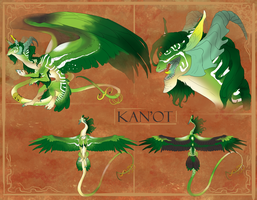 Kan'Ot Ref sheet by ErisAdopts