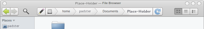 File Browser Mockup by theRealPadster