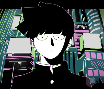 Mob Psycho 100 by fantasycatart