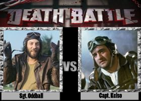 Death Battle: Sgt Oddball vs Captain Kelso by CZProductions