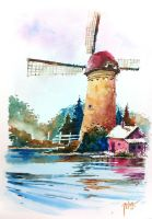 Kinderdijk, Netherlands-SOLD by tilenti