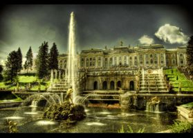 Fountains Everywhere HDR by ISIK5