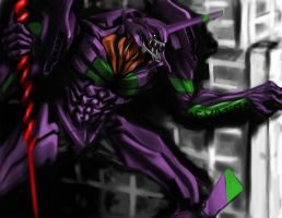 fanart eva unit 01 by egnki