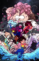 Steven Universe (Coloring practice) by Mari-Golds