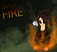 Girl on Fire by Flaamez