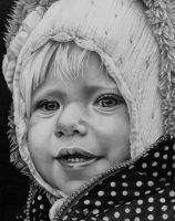 Graphite Portrait 4 by jslackfineart