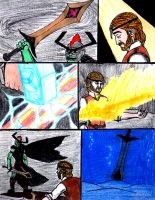 The Legend of Kevlron's Magic Sword by Supajames1