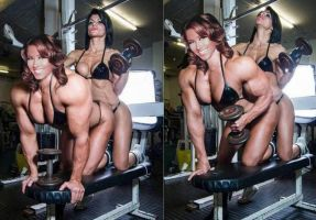 Weight Bench Beauty by Turbo99