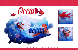 PACK | OCEAN by HowlHeaven