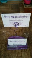 Wire Moon Jewelry Business Cards by WireMoonJewelry