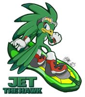 Jet the Hawk by saiyanhajime