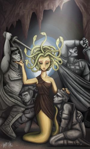 Medusa And Her Men