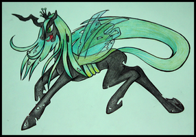 + Queen Chrysalis + by Kamisia