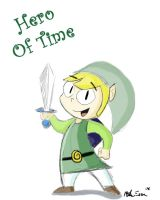 Link-Hero of Time by MiketheMike