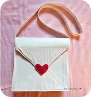 Love Envelope Messenger Bag Replica by Kitty-Sprinkles