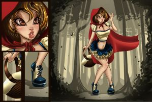 Red ridding hood? by Victoria-Star