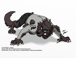 Werewolf Gru 2 by Slasher12
