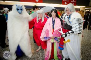 Inuyasha at Montreal Comic Con 2013 by Midnight-Dance-Angel